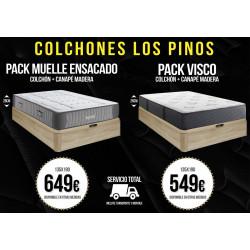 PACK DE CANAPÉ Y COLCHÓN